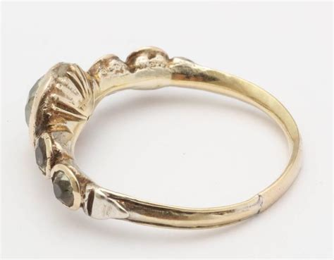 antique georgian chrysoberyl gold ring for sale at 1stdibs