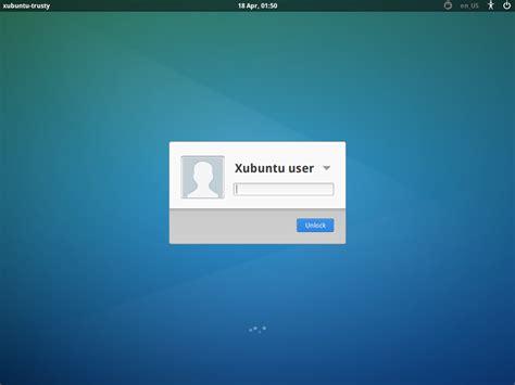 gnome lock screen themes screen locking in xubuntu 14 04 171 xubuntu
