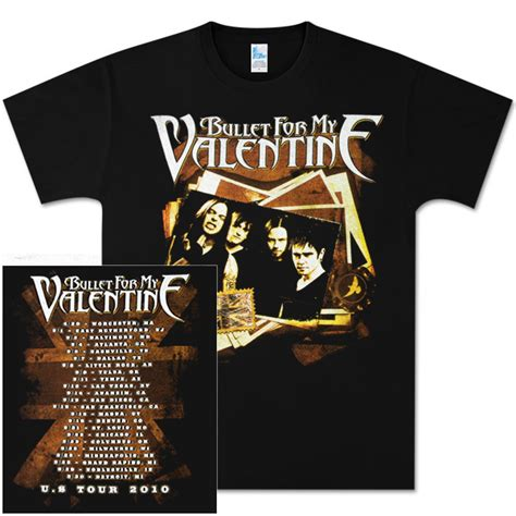 bullet for my tour bullet for my photo stack tour t shirt shop