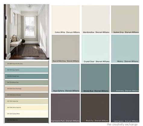contemporary color palette 2017 favorites from the 2015 paint color forecasts office