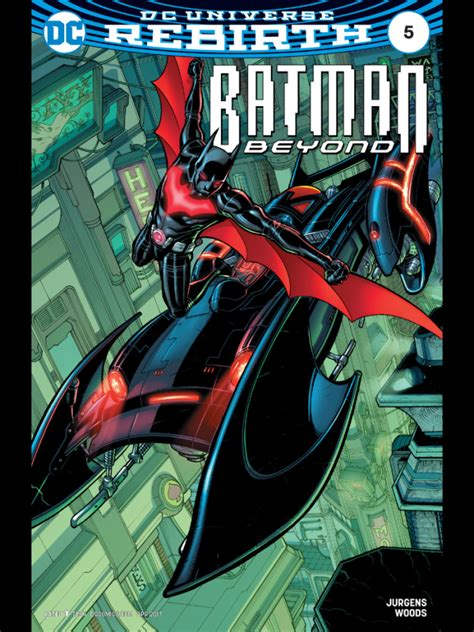 batman beyond vol 2 rise of the rebirth upcoming comics april 26 2017 batman news