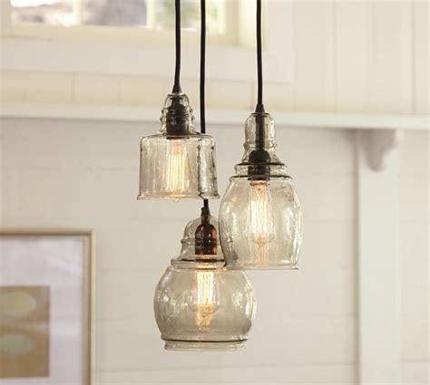 paxton three light pendant from pottery barn lighting