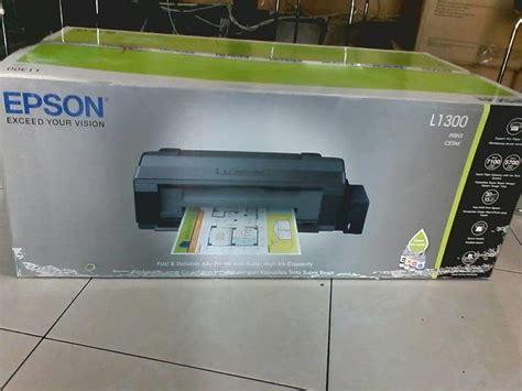 Printer Epson Murah Di Surabaya jual printer epson l1300 harga murah surabaya oleh pt globalindo komputer