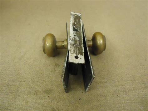 Latch Assembly Door Knob by Cranby Door Knob Assembly Brass Mortise 935 Vintage Ebay