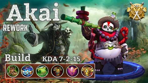 Mobile Legends Akai 2 mobile legends akai rework feel the power of the new panda