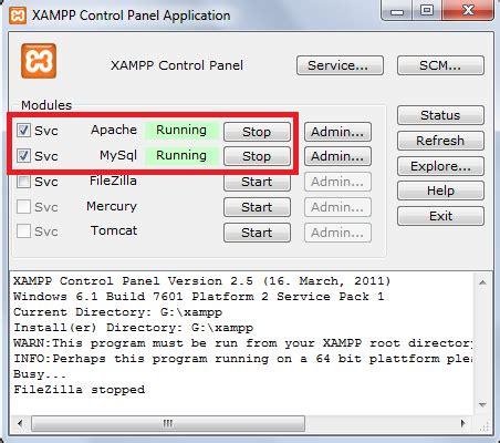 belajar membuat database di mysql belajar database cara membuat database di xp
