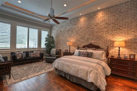 love  brick wall bedroom loving pinterest
