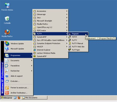 tutorial php with xp documentation tutorials ssh putty psmn