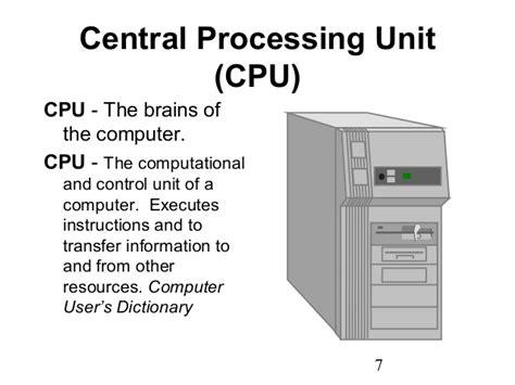 cpu info basic computer class 1