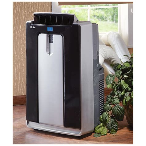 portable room ac haier 174 14 000 btu portable room air conditioner 590946 air conditioners fans at sportsman s