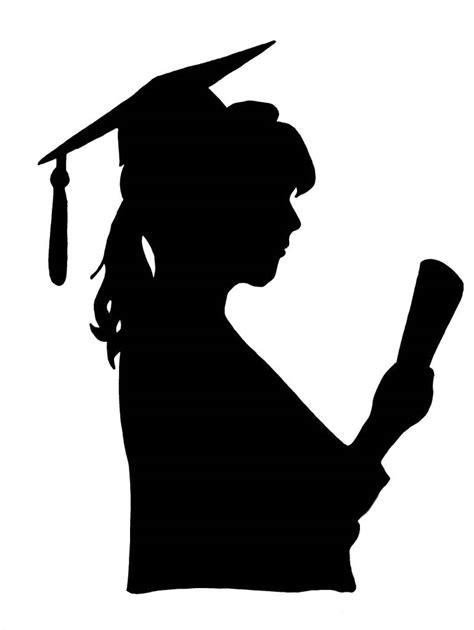 free clipart silhouette graduation silhouette clip 101 clip