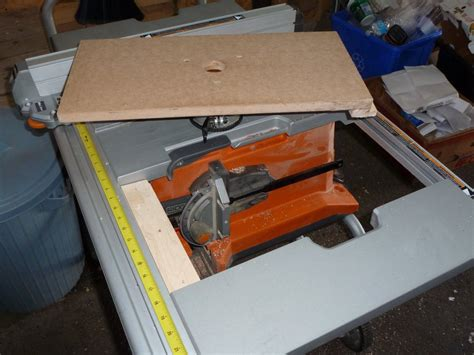 router table for a ridgid table saw by jap lumberjocks