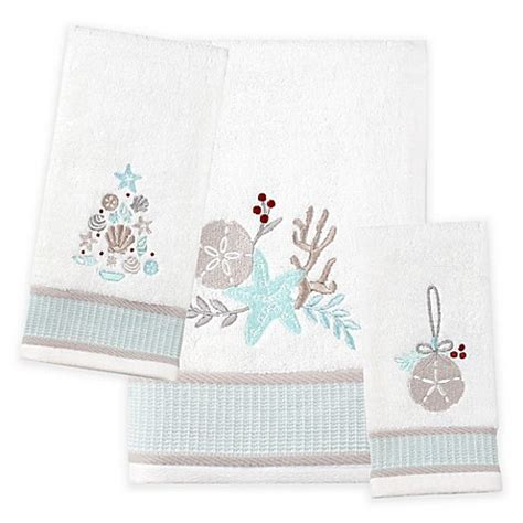 bed bath and beyond hours saturday buy saturday knight coastal christmas bath towel from bed