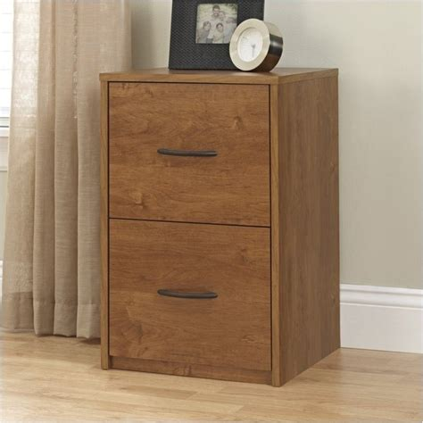 Pemberly Row 2 Drawer Wood Vertical File Cabinet In Oak Wood File Cabinet 2 Drawer Vertical