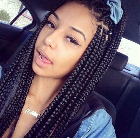 hairstyles from instagram instagram post by awebbb box braids hairstyles braid