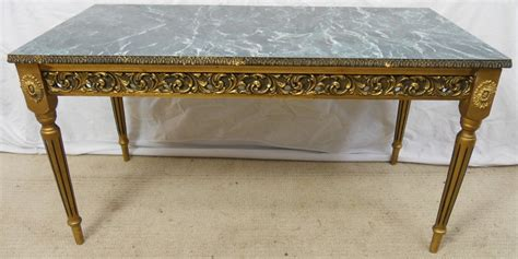 Marble Effect Coffee Tables Gilt Frame Marble Effect Top Coffee Table