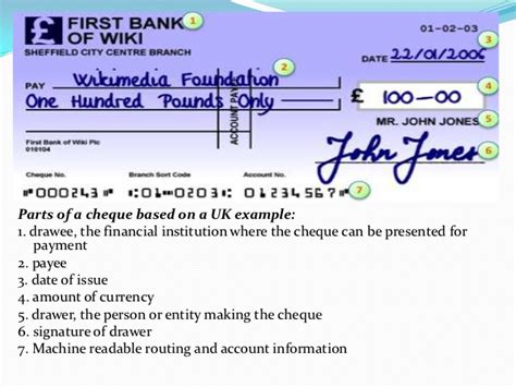 Drawer Bank Meaning by Cheque Be Check Ae For Banking Finance