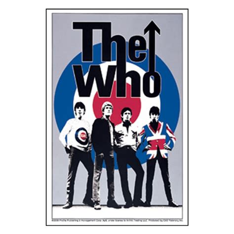 Music Home Decor the who band target logo sticker