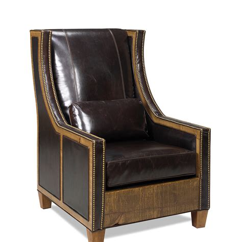 Leather For Chair Upholstery by Hickock Chair Promo Leather Green Gables