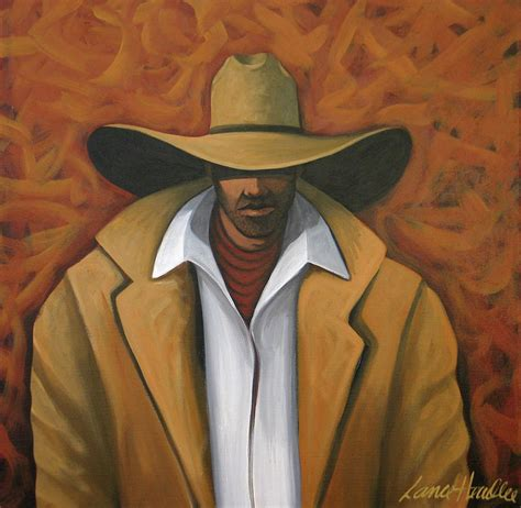 Western Cowboy Home Decor Cowboy Painting By Lance Headlee
