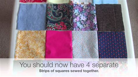 How To Sew Patchwork by Diy How To Sew A Patchwork Pillow Easy