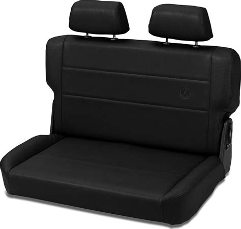 jeep bench seat bestop trailmax ii fold tumble rear bench seat in vinyl