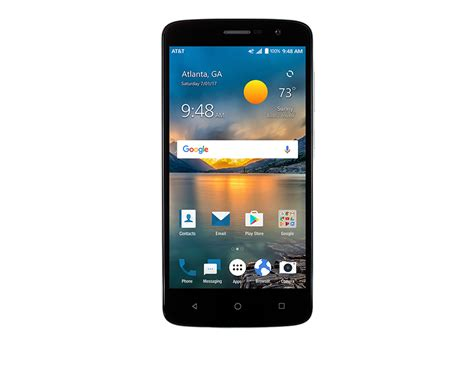 Android Zte Phone Images zte blade spark android nougat smartphone launches in the us for at t prepaid
