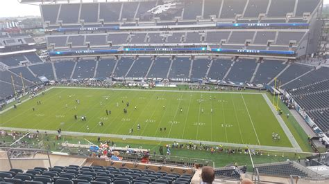 lincoln sections lincoln financial field section 227 philadelphia eagles
