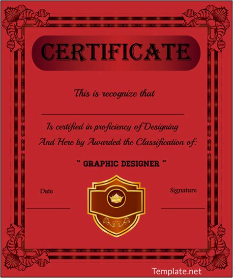 free certificate templates for adobe illustrator free certificate template 65 adobe illustrator