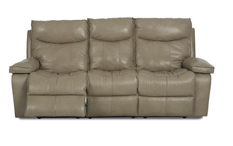 Modern Reclining Sofas Wilson Contemporary Reclining Sofa By Klaussner Wolf Furniture