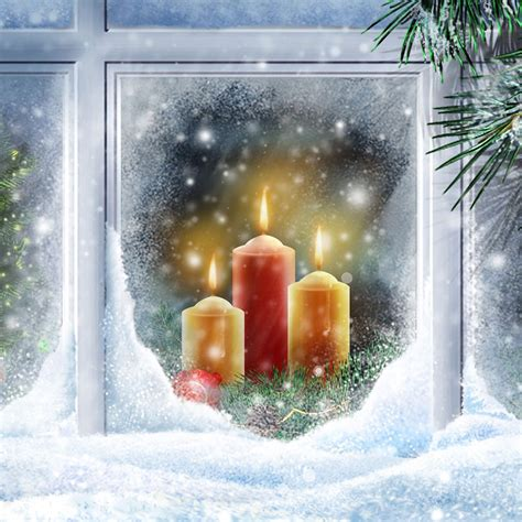 candle in the window candles pinterest