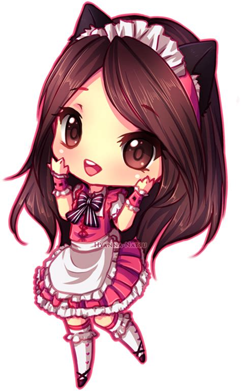 cute anime chibi girl with red hair c jenny by hyanna natsu on deviantart