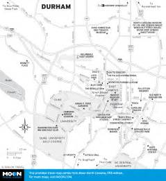 durham carolina map american heritage sights in durham carolina