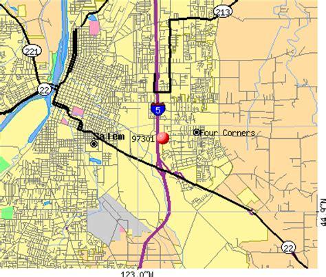 map of oregon by zip code salem oregon zip code map oregon map