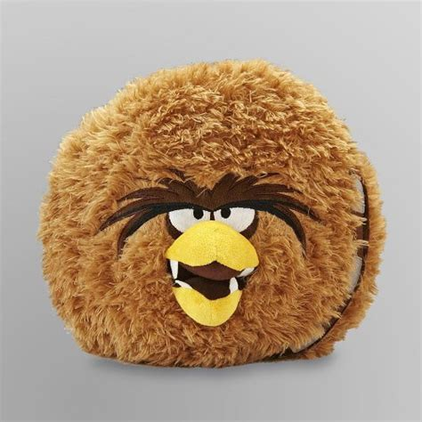 Chewbacca Pillow Pet by Other Toys Angry Birds Wars Chewbacca 12 Quot Plush