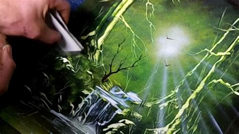 spray paint emerald city emerald forest