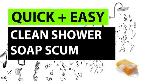 How Do I Clean Soap Scum From Glass Shower Doors How To Clean A Glass Shower Door Easy Hack