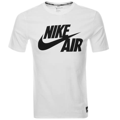 T Shirt Nike Air Black price nike air logo t shirt white the new