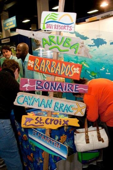 travel agent trade show ideas images  pinterest