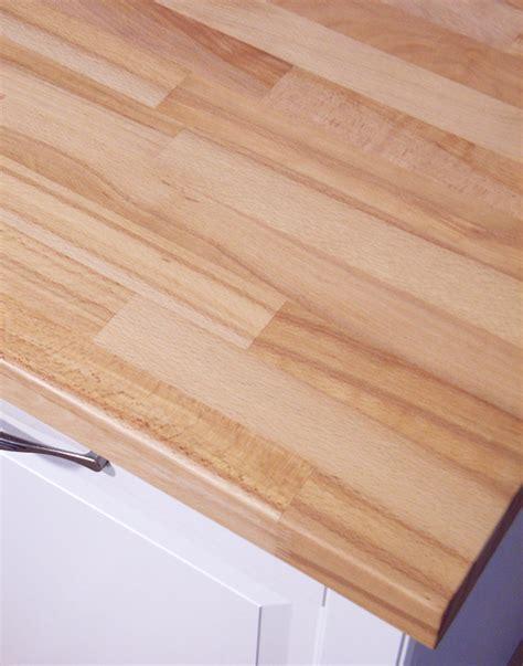 Arbeitsplatte / Küchenarbeitsplatte Massivholz Kernbuche