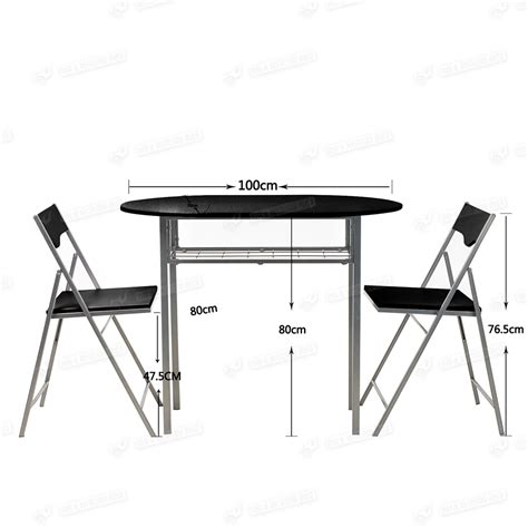 folding table and chair sets dining drop leaf dining table and 2 folding chairs breakfast set