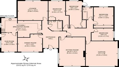 5 bedroom bungalow floor plans 4 bedroom bungalow plans photos and video