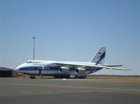 Car Hire Port Hedland Airport by Antonov An 124 100 At Port Hedland International Airport