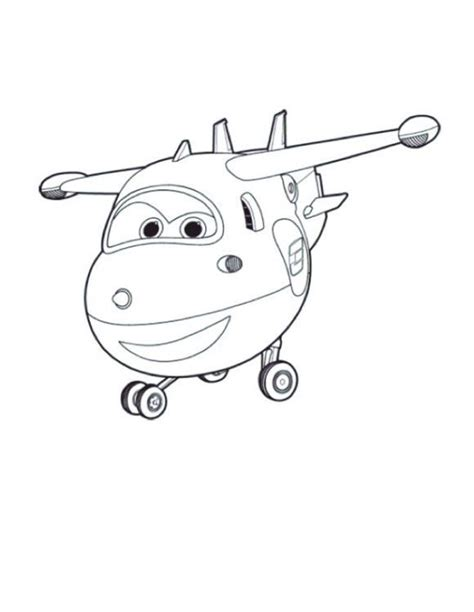 jett coloring pages super wings   kids coloring pages