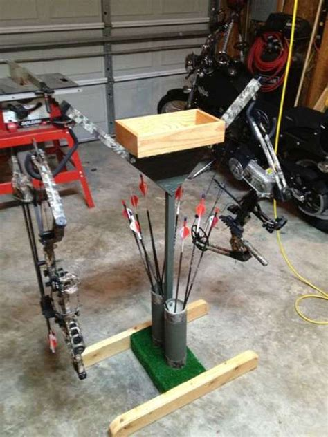 diy archery equipment bow stand bow holders bows and bows