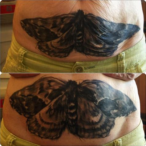 black and grey moth tattoo off the map tattoo tattoos animal moth black and