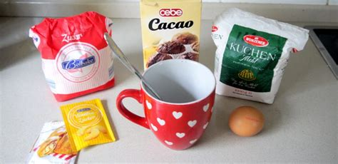 kuchen in der tasse backen 5 minuten kuchen in der tasse beliebte rezepte f 252 r