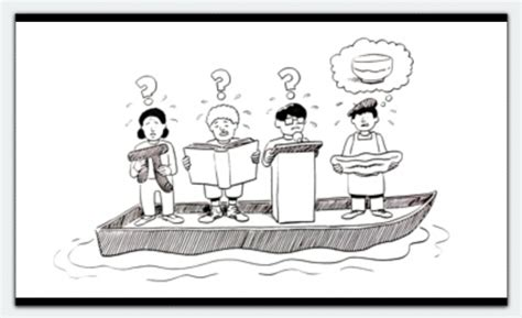 talking boats cartoon speaking listening are core skills today