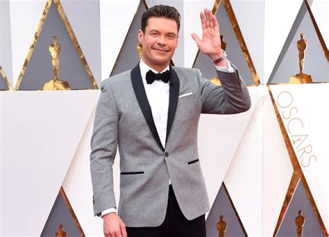 Seacrest Discusses Angelinas Carpet Snub by Seacrest Not Quot Nervous Quot About Oscars Carpet