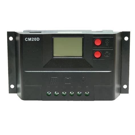 10a 12v 24v Solar Charge Controller With Lcd Display Au Diskon cm20d usb 10a 20a 12v 24v auto lcd usb solar charge